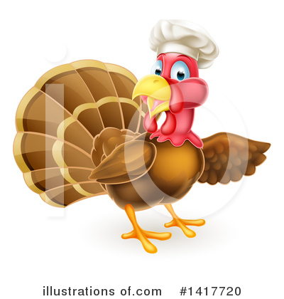 Thanksgiving Clipart #1417720 by AtStockIllustration