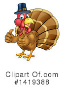 Royalty-Free (RF) Turkey Clipart Illustration #1419388