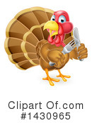 Royalty-Free (RF) Turkey Clipart Illustration #1430965