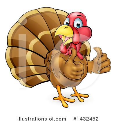 Thanksgiving Clipart #1432452 by AtStockIllustration