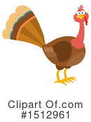 Turkey Clipart #1512961 by Hit Toon