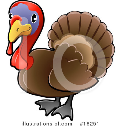 Thanksgiving Clipart #16251 by AtStockIllustration