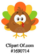 Turkey Clipart #1690714 by Hit Toon