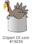 Royalty-Free (RF) Turkey Clipart Illustration #19239