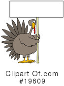 Turkey Clipart #19609
