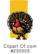 Royalty-Free (RF) Turkey Clipart Illustration #230003
