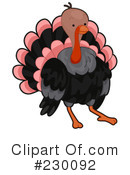 Turkey Clipart #230092 by BNP Design Studio