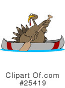 Royalty-Free (RF) Turkey Clipart Illustration #25419
