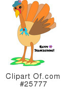 Turkey Clipart #25777
