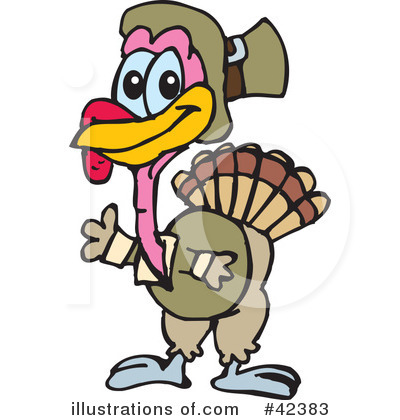 Thanksgiving Clipart #42383 by Dennis Holmes Designs