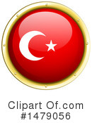 Turkish Flag Clipart #1479056 by Graphics RF
