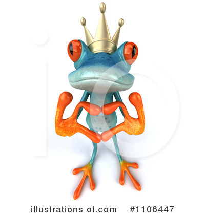 Frog Prince Clipart #1106447 by Julos