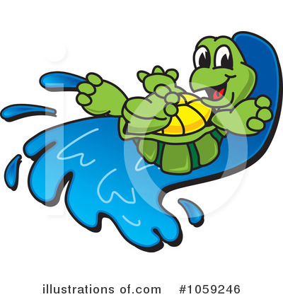 Royalty-Free (RF) Turtle Clipart Illustration by Toons4Biz - Stock Sample #1059246