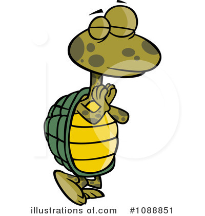 Turtle Clipart #1088851 by toonaday
