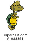 Royalty-Free (RF) Turtle Clipart Illustration #1088851