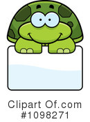 Royalty-Free (RF) Turtle Clipart Illustration #1098271