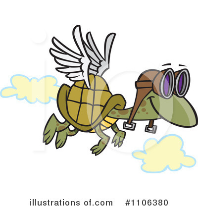 Turtle Clipart #1106380 by toonaday