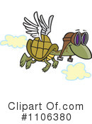 Royalty-Free (RF) Turtle Clipart Illustration #1106380