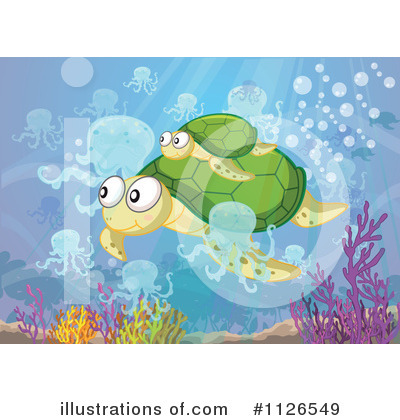 Sea Turtle Clipart #1126549 by Graphics RF