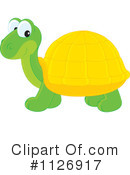 Royalty-Free (RF) Turtle Clipart Illustration #1126917