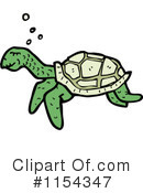 Royalty-Free (RF) turtle Clipart Illustration #1154347