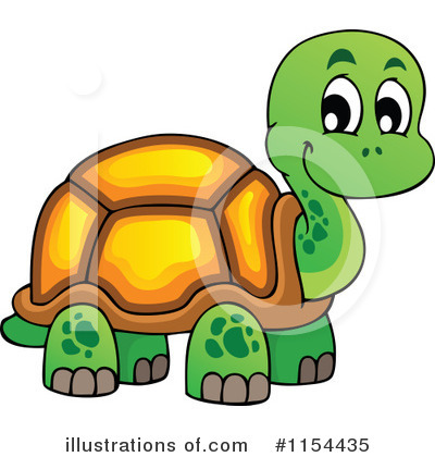 Turtle Clipart #1154435 by visekart