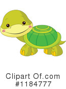 Turtle Clipart #1184777 by Pushkin