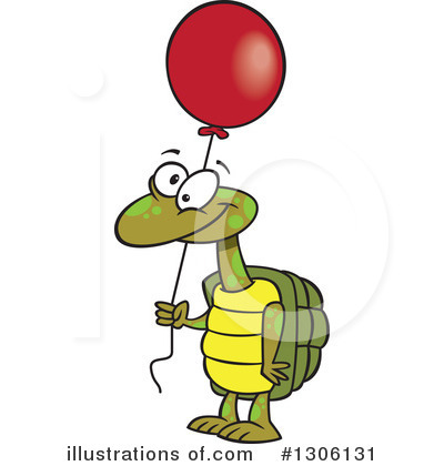 Royalty-Free (RF) Turtle Clipart Illustration by toonaday - Stock Sample #1306131