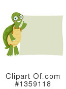 Royalty-Free (RF) Turtle Clipart Illustration #1359118