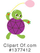 Royalty-Free (RF) Turtle Clipart Illustration #1377412