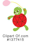 Royalty-Free (RF) Turtle Clipart Illustration #1377415