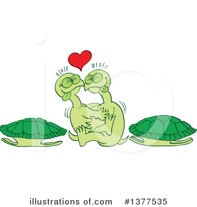 Turtle Clipart #1377535 by Zooco
