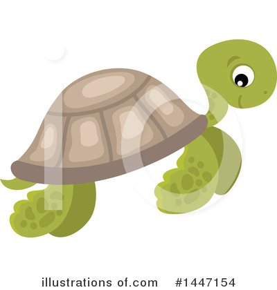 Turtle Clipart #1447154 by visekart