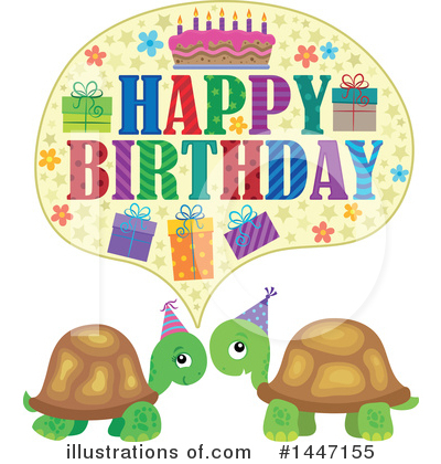 Birthday Cake Clipart #1447155 by visekart