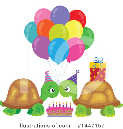 Birthday Cake Clipart #1447157 by visekart