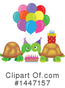 Turtle Clipart #1447157 by visekart