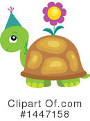 Turtle Clipart #1447158 by visekart