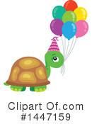 Turtle Clipart #1447159 by visekart