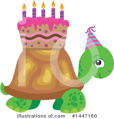 Birthday Cake Clipart #1447160 by visekart