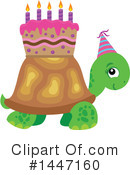 Turtle Clipart #1447160 by visekart