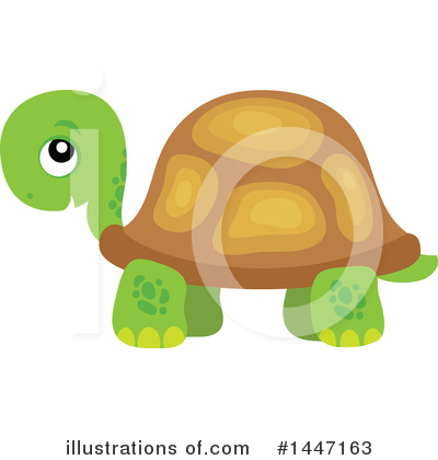 Turtle Clipart #1447163 by visekart