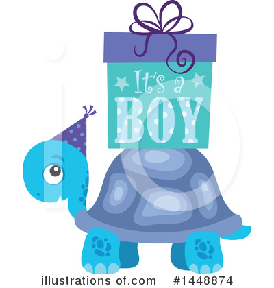 Turtle Clipart #1448874 by visekart