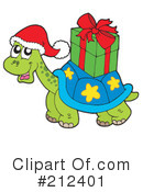 Royalty-Free (RF) Turtle Clipart Illustration #212401