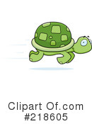 Royalty-Free (RF) Turtle Clipart Illustration #218605