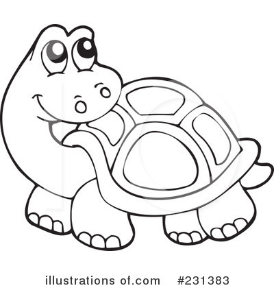 Royalty-Free (RF) Turtle Clipart Illustration by visekart - Stock ...