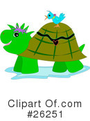Royalty-Free (RF) turtle Clipart Illustration #26251