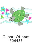 Royalty-Free (RF) turtle Clipart Illustration #26433
