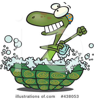 Turtle Clipart #438053 by toonaday