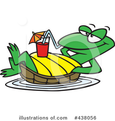 Turtle Clipart #438056 by toonaday