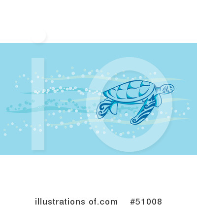 Sea Turtle Clipart #51008 by Cherie Reve